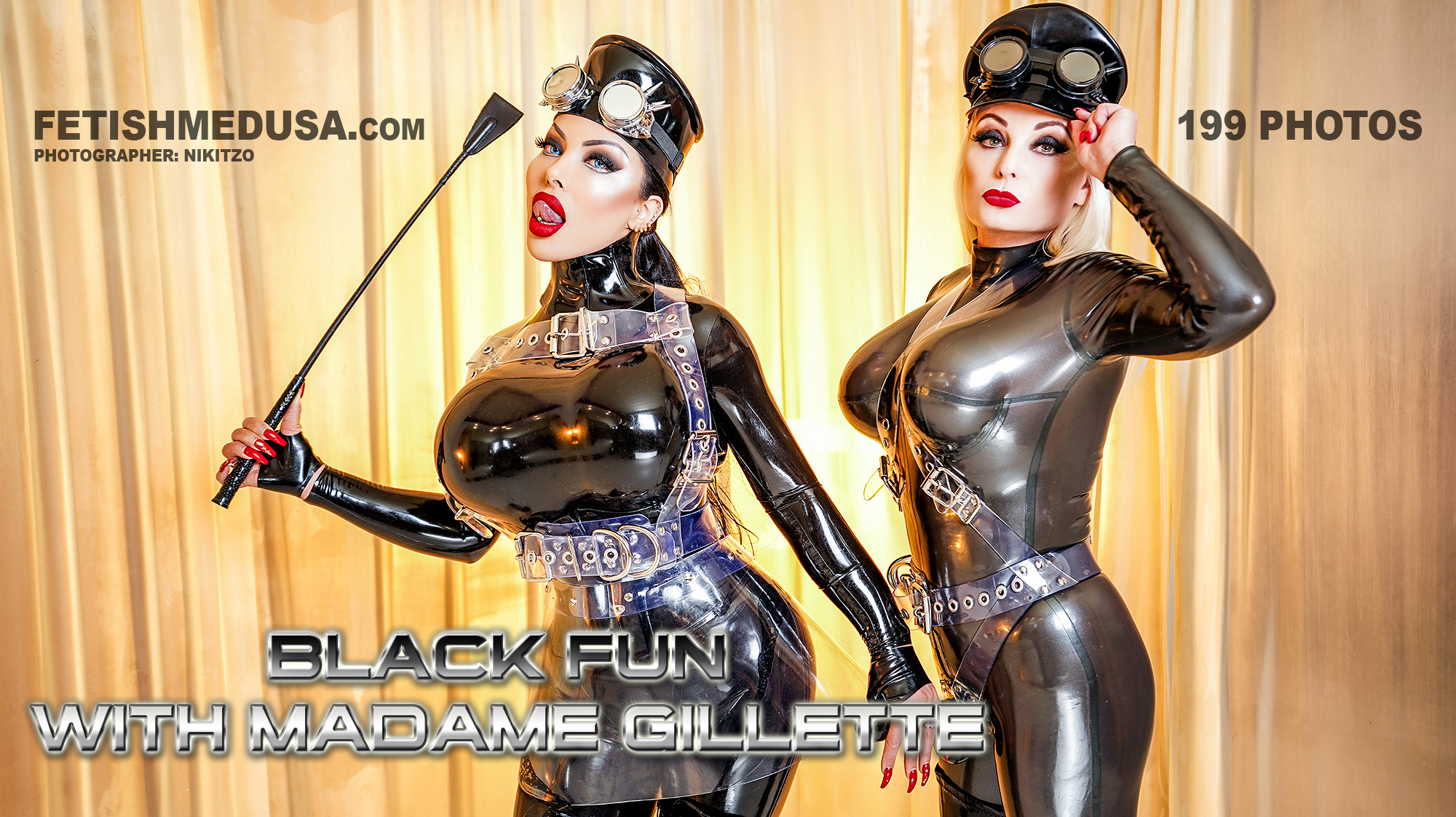 Black Fun with Madame Gillette