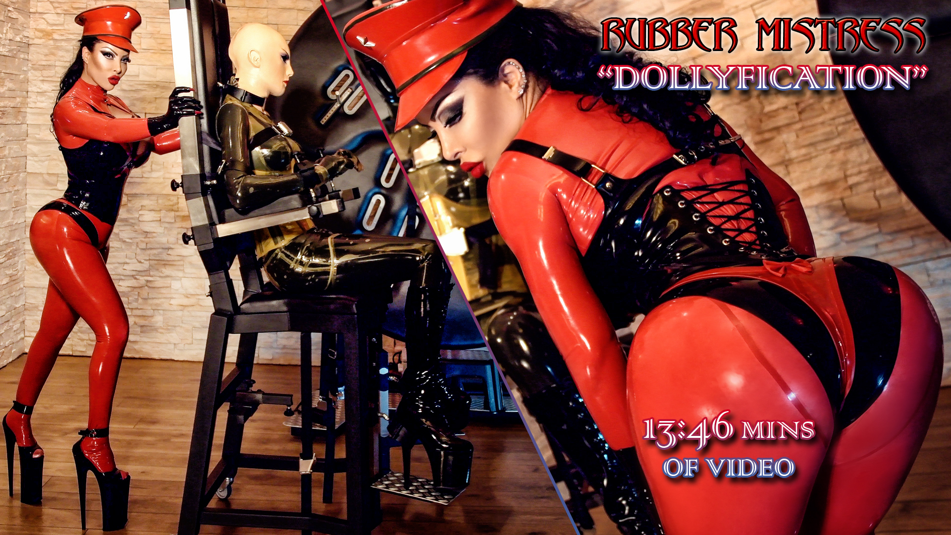 "Rubber Mistress ""Dollyfication"""